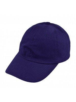 Adults Adjustable Baseball Cap - Navy