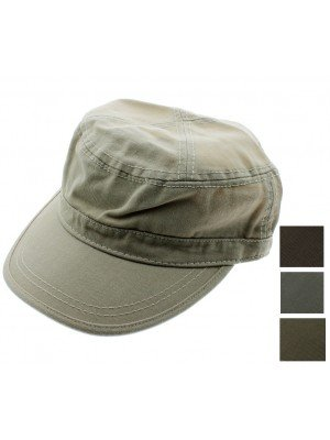 Adults Chino Twill Cadet Cap - Assorted Colours