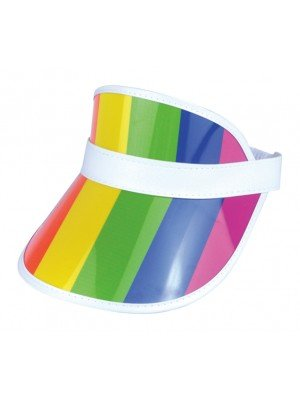 Adults Rainbow Pride Visor Hat