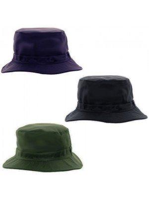 Adults Showerproof Bush Hat - Assorted Colour & Sizes