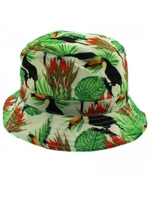 Adults Unisex Toucan Bush Hat