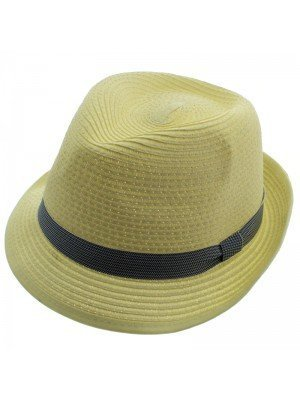 Adults Unisex Trilby With Stripe Band - Assorted Colours