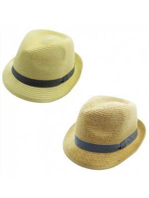 Adults Unisex Trilby With Stripe Band