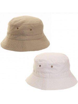 Wholesale Adults' Unisex Ripstop Bucket Hat - Assorted