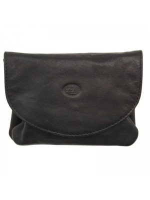 Wholesale Ladies Black Leather Purse