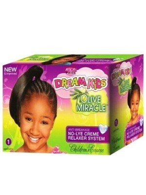 Wholesale African Pride Dream Kids Olive Miracle No-Lye Creme Relaxer System - Regular