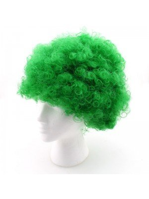 Afro Wigs - Green