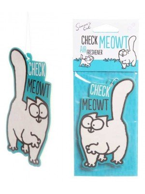 Wholesale Simon's Cat Check Meowt Vanilla Air Freshener
