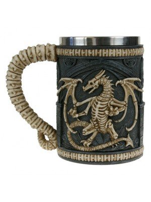 Wholesale Dragon Remains Tankard 15cm