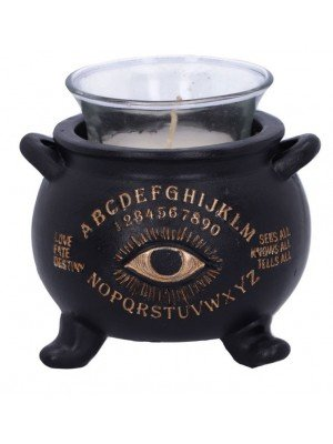 Wholesale All Seeing Cauldron Candle Holder - 9cm