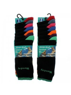 Always Fresh Days Of The Week Socks (6-11) - Assorted Colours