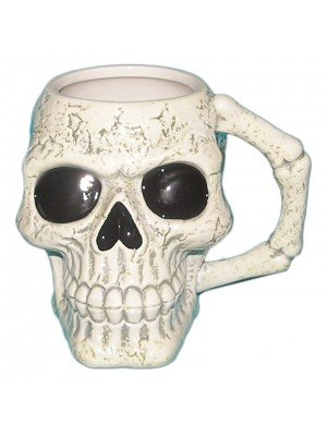 Skull & Bone Shaped Mug