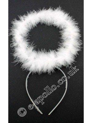 Angel Aureole Headband - White
