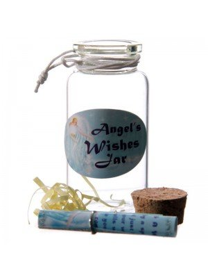 Angel Wishes Jar With Trinket