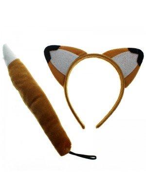 Animal Ear And Tail Set - Fox Design