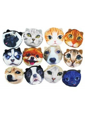 Animal Design Coin Purses - Assorted Designs