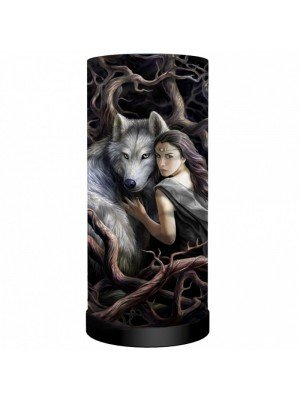 Wholesale Anne Stokes Soul Bond Round Lamp - 27.5cm