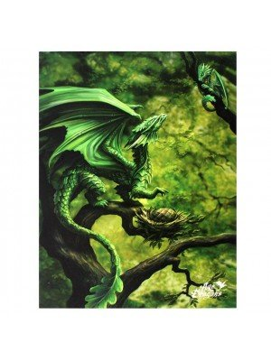 Anne Stokes Forest Dragon Picture Canvas