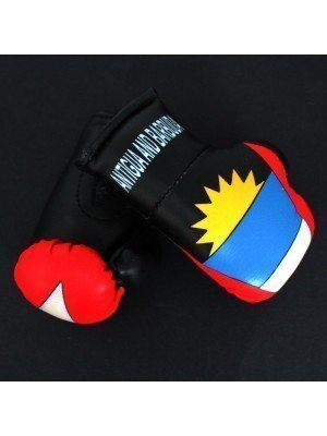 Mini Boxing Gloves - Antigua And Barbuda