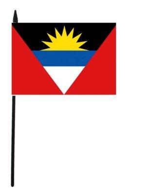 """Antigua and Barbuda Hand Flag 12"""" x 18"""""""