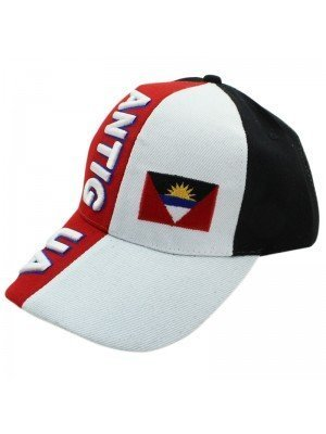 Antigua Colours and Flag Baseball Cap