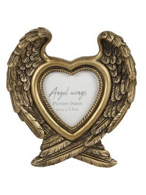 Wholesale Antique Gold Angel Wing Photo Frame