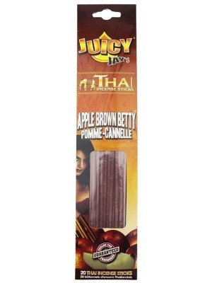 Wholesale Juicy Jay's Thai Incense Sticks - Apple Brown Betty