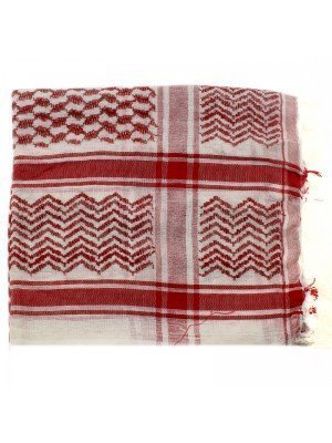 Arab Scarves - Red and White