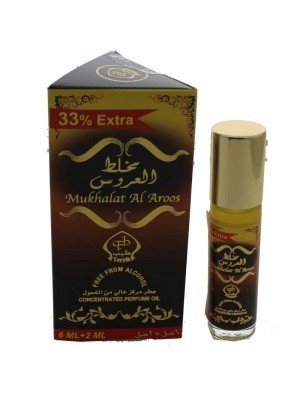 Wholesale Mukhalat Al Aroos Concentrated Perfume Oil-6ml+2ml(33% extra)