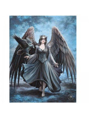 Wholesale Anne Stokes Wall Canvas - Raven