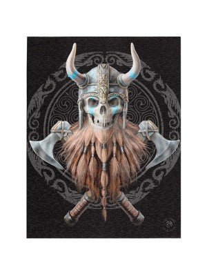 Wholesale Anne Stokes Wall Canvas - Viking Skull