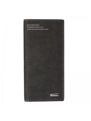 Menbense Ladies Leather Hand Bag-Black(20cm x 10cm)