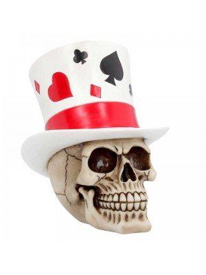 Wholesale Casino Jack - Skull Figurine - 20cm
