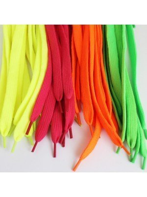 Assorted Fashion Shoelaces (Neon Assortment)