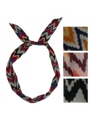 Assorted Print Bendy Headwraps