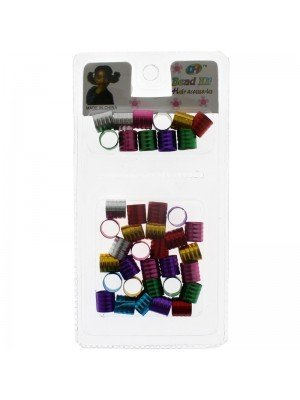 Assorted Coloured Braiding Beads