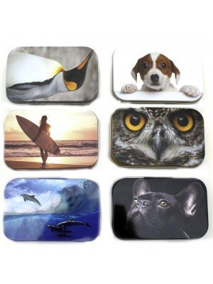 Wholesale Assorted Designed Tins