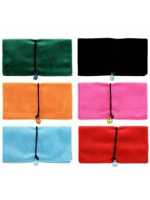 Wholesale Atomic Furry Pouches - Assorted Colours
