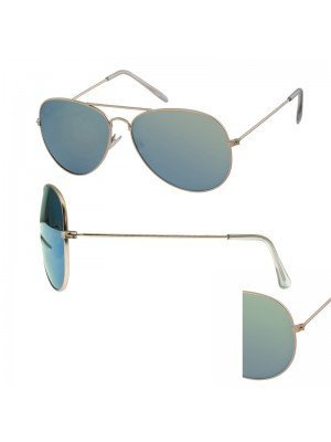Aviator Sunglasses - Gold Frame (Assorted Lenses)
