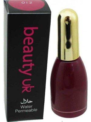 Wholesale Beauty Uk Water Permeable Halal Nail Polish-012(Cardinal)