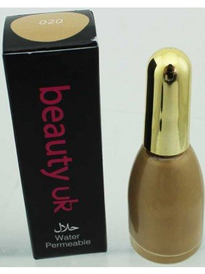 Wholesale Beauty Uk Water Permeable Halal Nail Polish-020(Desert Sand)