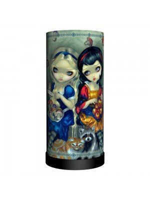 Alice & Snow White Lamp
