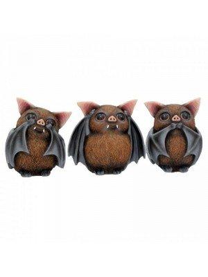 Wholesale Three Wise Bats 8.5cm
