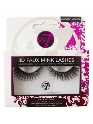 Wholesale W7 3D Faux Mink Lashes - Back To Mine