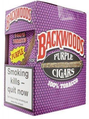 Wholesale Backwoods Cigars Full Box - Purple (40 Cigars)