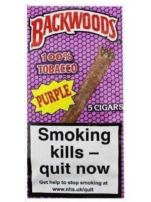 Wholesale Backwoods Cigars - Blue (5 Cigars)