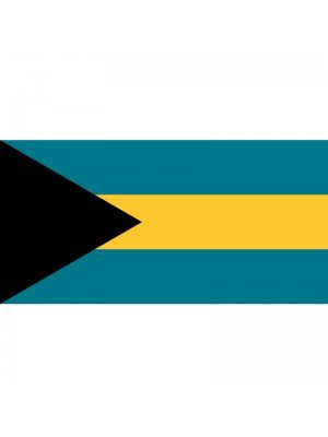 Bahamas' Flag - 5ft x 3ft