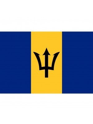 Barbados Flag - 5ft x 3ft