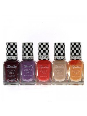 Wholesale Barry M Speedy Quick Dry Nail Polish - Assorted