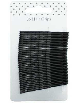 Wholesale Basic Hair Grips - Black (5.5cm)